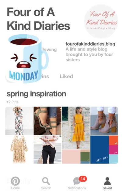 Our Pinterest Inspiration Boards