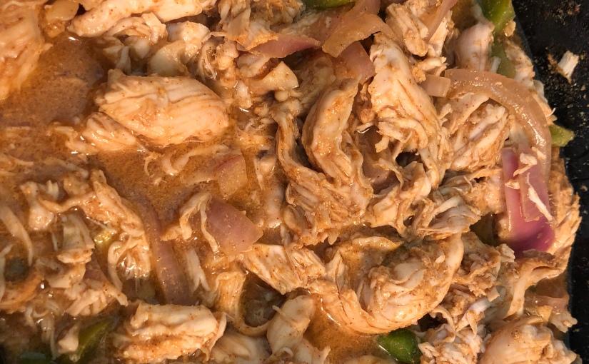 Meal Prep Monday Fajita Chicken And Salmon Zucchini Boats